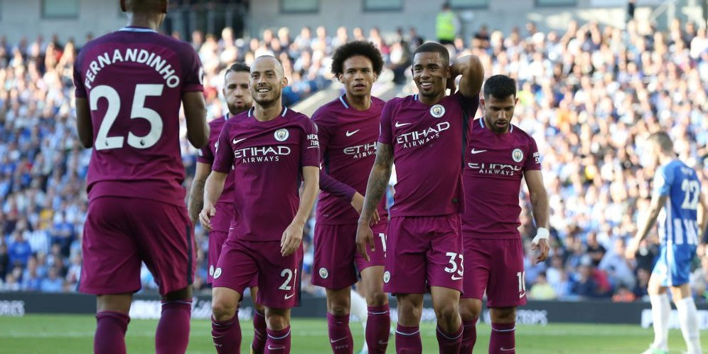Prediksi Manchester City Vs Brighton 29 September 2018